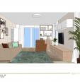 Obývací pokoj, kuchyně a vstupní chodba, Kostelec nad Labem, 2016